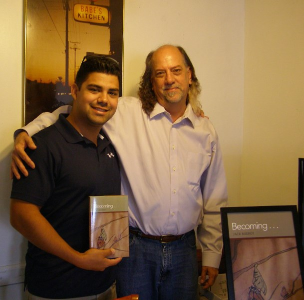 Becoming . . . Book signing, at Babe\'s Kitchen, Long Beach, California