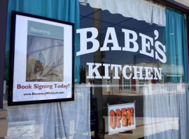 Babe's Kitchen Book Signing